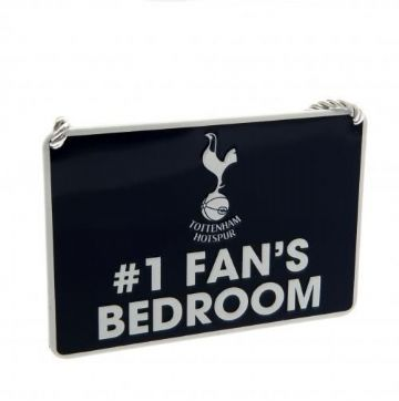 Tottenham Hotspur Number One Fan Bedroom Sign